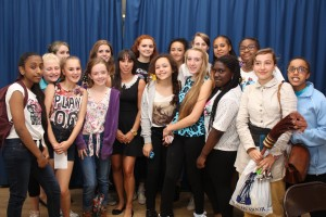 Beth with Rec 3 Girls